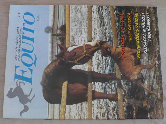 Equito 1-12 (1993) ročník II. (chybí čísla 7-8, 11-12, 8 čísel) slovensky