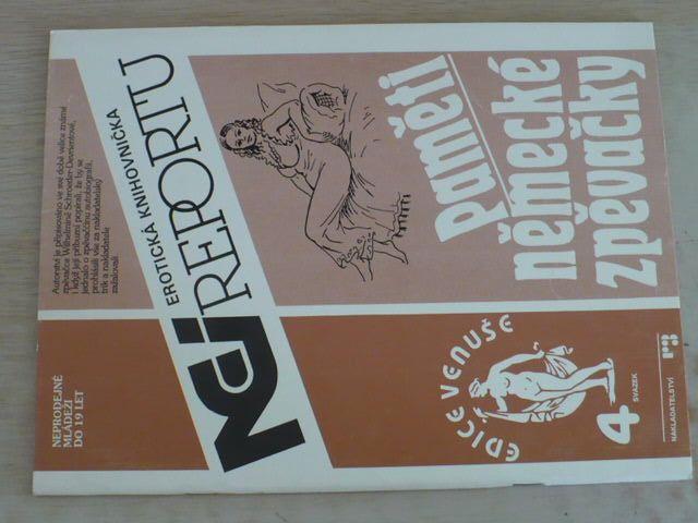 Erotická knihovnička Nei reportu sv. 4 - Paměti německé zpěvačky (1991)