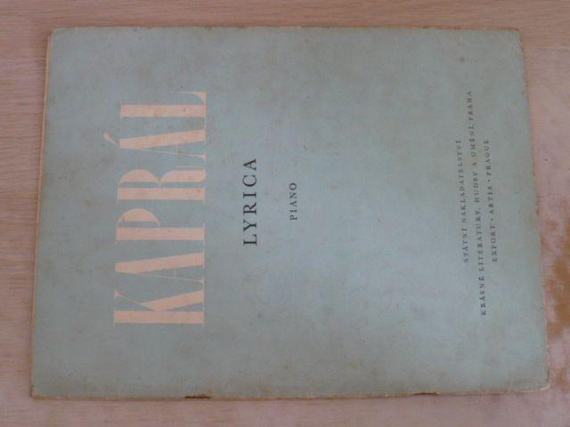 Kaprál - Lyrica (1960)