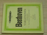 Beethoven -  Variationen fur Klavier Nr. 298 a - Piano Variations I.  (1970) německy