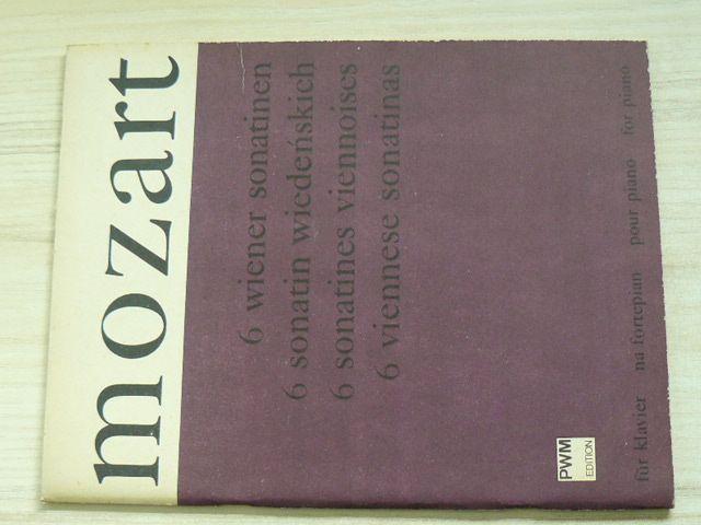 Mozart - 6 wiener sonatinen für klavier (1981) polsky