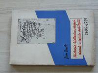 Burk - Historie židlochovických domů a jejich držitelů 1609-1791 (1936)