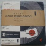 """A. Platkow, M. Jaworowski – Parlez-Vous Français? Nauka Języka Francuskiego z Płyt (1960) 4 x LP10"""""""