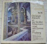 Bach, Christoph Albrecht – Bachs Orgelwerke auf Silbermannorgeln 15/16: Christoph Albrecht an der Großen Slibermannorgel des Domes zu Freiberg (1974)