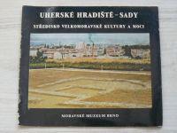 Hrubý - Uherské Hradiště - Sady - Středisko Velkomoravské kultury a moci (1975)