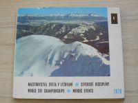 Majstrovstvá sveta v lyžování - severské disciplíny (1970) slovensky, anglicky