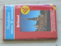 Taschenbücher - Baedekers - Brüssel - Mit großem Stadtplan (1982) německy
