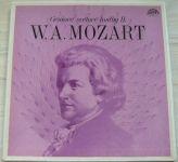 W. A. Mozart – Géniové světové hudby II. (1978) 2 x LP