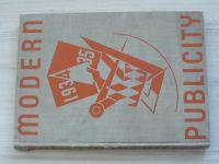 Modern Publicity 1934-35 - ed. Mercer, Gaunt (STUDIO London - New York)