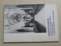 Pospíšil - Konventní kostel bývalého cisterciáckého kláštera ve Žďáře nad Sázavou (1990)
