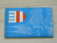 Orientační plán 1 : 15 000 - Brno  (1975) mapa + informativní část