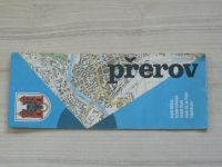 Plán města - 1 : 15 000 - Přerov (1985)