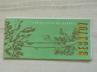 Soubor turistických map 1 : 100 000 - Beskydy (1980)