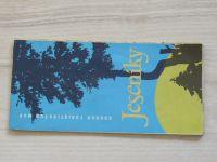 Soubor turistických map 1 : 100 000 - Jeseníky (1980)