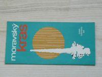 Soubor turistických map 1 : 50 000 - Moravský kras (1979)