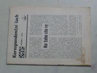 Korespondenční šach 1-6 (1991) ročník I. (chybí čísla 2, 4, 4 čísla)