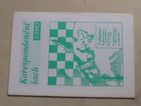 Korespondenční šach 1-6 (1993) ročník III. (chybí číslo 2, 5 čísel)