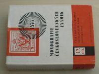 Monografie československých známek 13 - Česká poštovní razítka od nejstarších dob (1974)