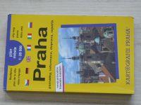 Plán města - 1 : 20 000 - Praha - památky, informace, doprava, rejstřík (1997)