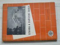 Laboutka - Stavba a zařízení školy (1947)