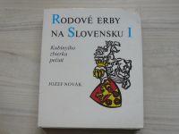 Novák - Rodové erby na Slovensku I. II. (1980) 2 knihy, slovensky