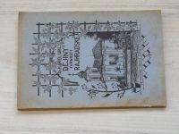 Uhl - Děšjiny Farnosti Rajhradské. (1934) věnování a podpis autora