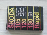 Cedrych - Škoda 105 - 120 - 130 - Rapid - Údržba, seřizování a opravy svépomocí (1985)