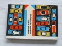 Učebnice řidiče osobního automobilu (1964) Škoda Octavia, Wartburg, Tatra 603