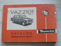VAZ 2101 (Žiguli) - Katalóg náhradných dielov - Mototechna 1974
