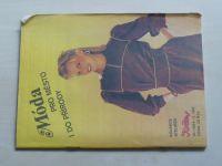 Květen - Ateliér pro služby ženám - Kolekce IV č. 105 - Móda pro město i do přírody (1984)