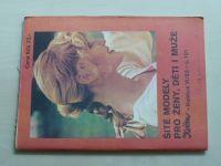 Květen - Ateliér pro služby ženám - Kolekce VI č. 101 - Šité modely pro ženy, děti i muže (1983)
