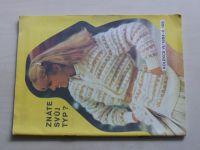 Květen - Ateliér pro služby ženám - Kolekce VI č. 105 - Znáte svůj typ? (1984)