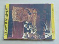 Květen - Ateliér pro služby ženám - Kolekce VI č. 109 - Vzory k vyšívání (1985)
