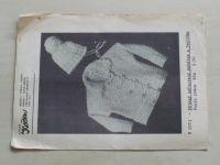 Atelier Květen V 2573 - Dětský háčkovaný kabátek a čepička (nedatováno)