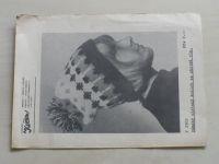 Atelier Květen V 2902 - Dámský pletený kulich ze zbytků vln (nedatováno)