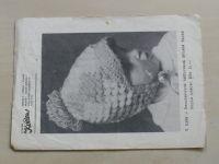Atelier Květen V 5399 - Dvoubarevná háčkovaná dětská čapka (nedatováno)