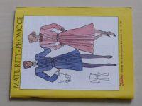 Květen - Ateliér pro služby ženám - Kolekce 1 č. 120 - Maturity, promoce (1988)