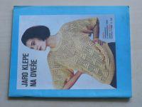 Květen - Ateliér pro služby ženám - Kolekce 1 č. 128 - Jaro klepe na dveře (1990)