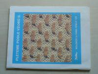 Květen - Ateliér pro služby ženám - Kolekce 2, 3 č. 125, 126 - Pleteme podle vzorů II+III (1989)
