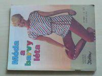 Květen - Ateliér pro služby ženám - Kolekce 2 č. 121 - Móda a barvy léta (1988)