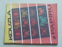 Květen - Ateliér pro služby ženám - Kolekce 2 č. 129 - Kouzla z papíru (1990)