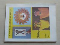 Květen - Ateliér pro služby ženám - Kolekce 4 č. 123 - Z papírů, hadříků, ze dřeva (1988)