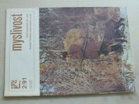 Myslivost 1-12 (1991) ročník XXXIX. (chybí čísla 1 a 12, 10 čísel)