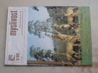 Myslivost 3 (1992) ročník XL.