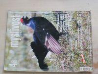 Myslivost 4 (2001) ročník XLIX.
