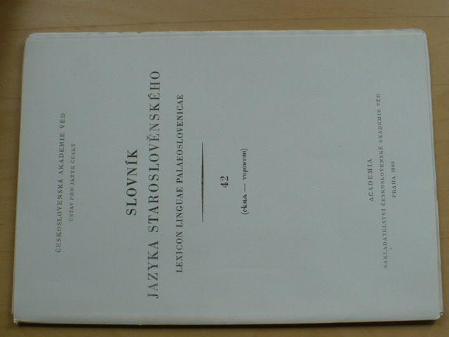 Slovník jazyka staroslověnského 42 (1989)