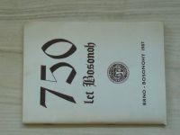 750 let Bosonoh - Brno Bosonohy 1987
