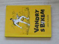 Jan Vlasák - Vandry s bikem (bejkem) (1995) podpis autora J.V.