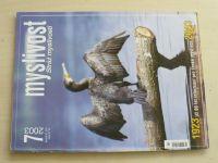 Myslivost 7 (2003) ročník LI.