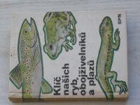 Hrabě - Klíč našich ryb, obojživelníků a plazů (1973)